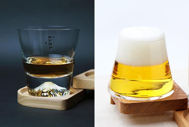 【新商品】富士山を模したグラス!熟練のガラス職人が命を吹き込む江戸硝子